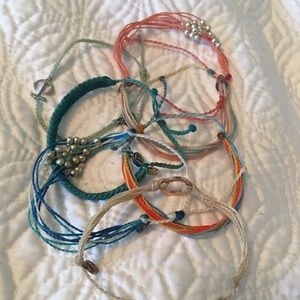 Bundle of 7 Puravida Bracelets